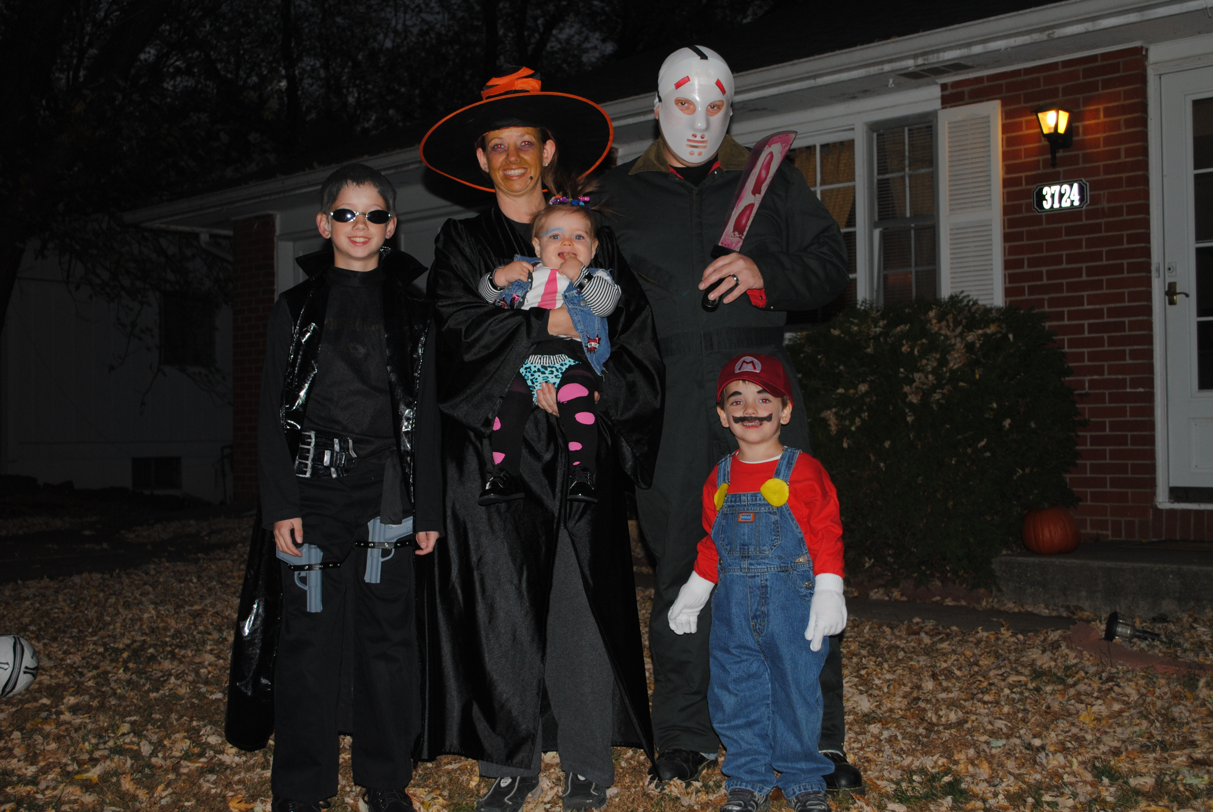 Trick-or-Treating in Blue Ridge-Oakland